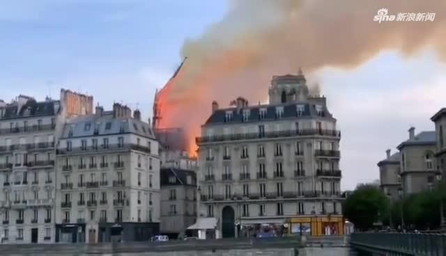 巴黎圣母院火灾后 教堂内部首张图片曝光(图)