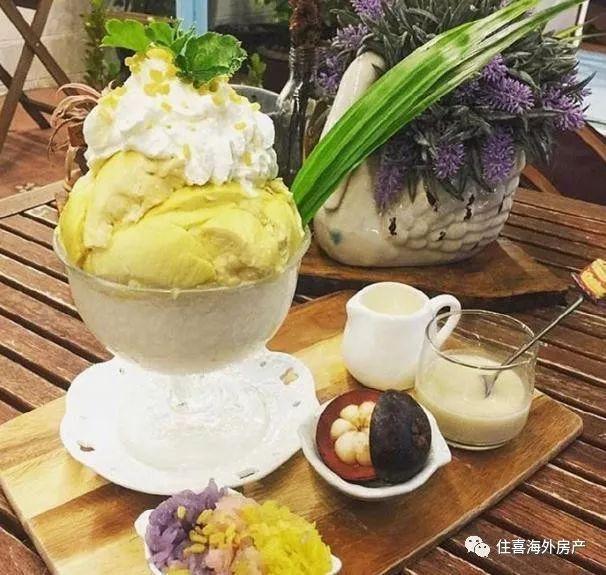 泰国有名的榴莲甜品店,榴莲控们可千万不要错过啦!