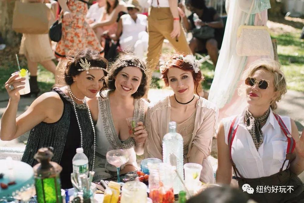 总督岛浪漫复古派对来了!爵士舞曲、美酒野餐,最全指南快看~