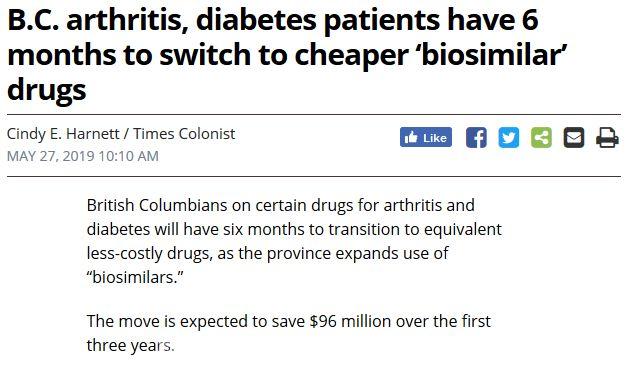 [重磅]$150亿加拿大全民药保计划出炉 吃药免费啦!
