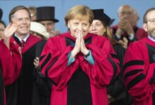 德国总理默克尔哈佛演讲:打破无知与狭隘的思维,一切皆有可能-留学世界 Study Overseas Global Study Abroad Programs Overseas Student International Studies Abroad