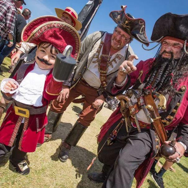 摇滚乐,啤酒自助,海盗节…湾区超棒的父亲节活动在这里!