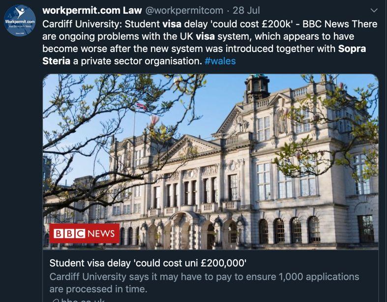 英国高校痛批留学生新签证服务糟糕透顶,严令9月前修复!