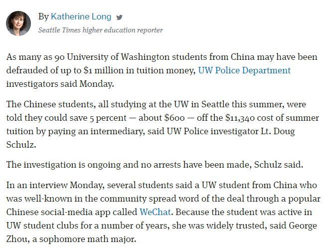 """留学生频频踩雷中枪,说到底还是因为一个""""钱""""字!"""