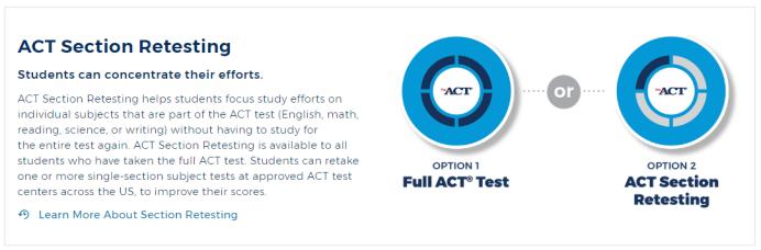 2020年ACT考试将有重大变革:拼分+单科重考