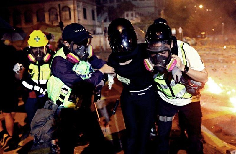 直击香港理工大学围城事件:无国界医生去哪了?