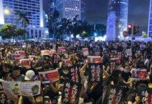 韩国多所大学出现大批支持香港示威标语 引起中国留学生激烈反击-留学世界 Study Overseas Global Study Abroad Programs Overseas Student International Studies Abroad