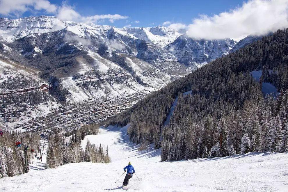全美10大滑雪胜地   冬假打卡,提前看起来~